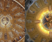Купол собора Сан-Марко (Венеция) и собора св. Саввы (Белград)