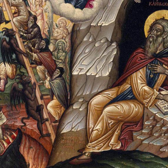 Преподобный Иоанн Синайский. Икона