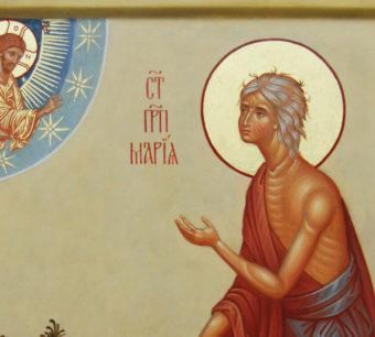Преподобная Мария Египетская. Икона.