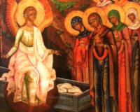 Икона свв. Жен Мироносицы